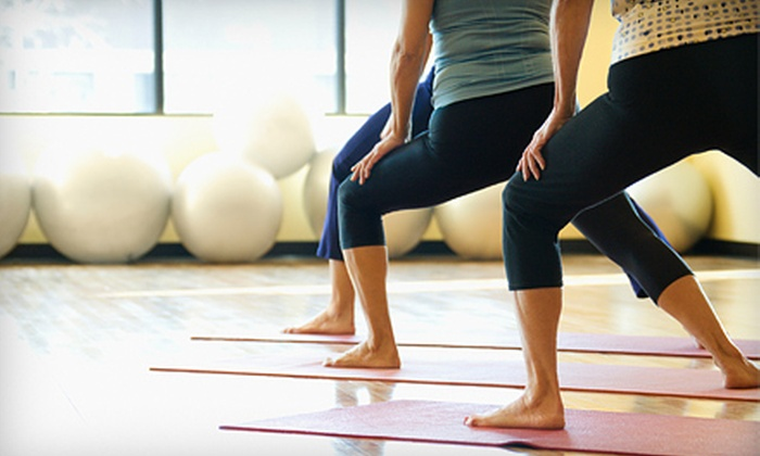 Lighten Up Yoga - Downtown Asheville: 6 or 12 Drop-In Classes at Lighten Up Yoga (Up to 53% Off)