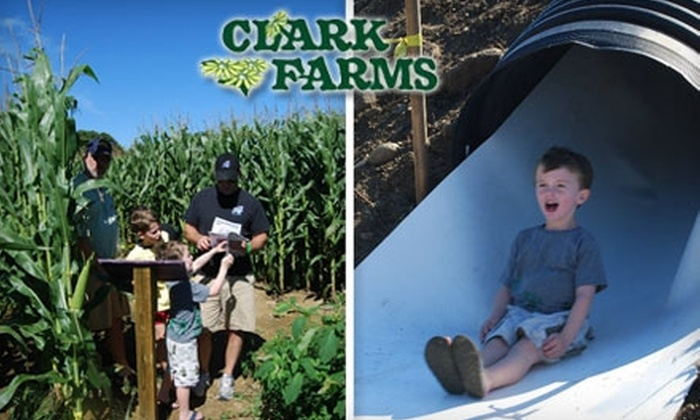 Clark Farms, Inc. - South Kingstown: $20 for a Family Four-Pack to the Fall Festival at Clark Farms ($40 Value)