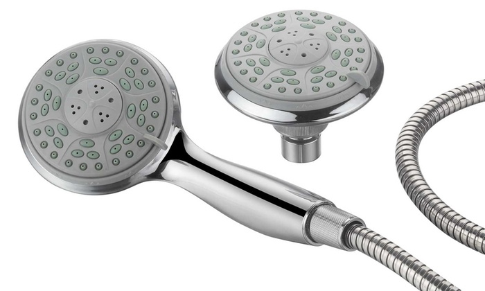 aquadance 24setting shower shower combo - Hand Held Shower Heads