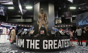 Hospitality Line: I Am The Greatest: Muhammad Ali Exhibition at the O2 with Two-Course Meal (20% Off)