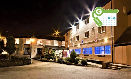 Manchester: Double Room with Breakfast, 2 Course Dinner and Wine at Best Western Old Mill Hotel and Leisure Club