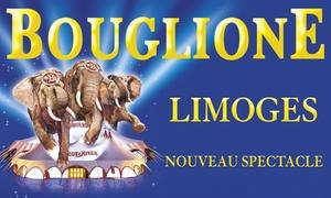 Cirque Bouglione: 1 place enfant ou adulte, catégorie au choix, pour l'une des représentations du Cirque Bouglione dès 10 € à Limoges