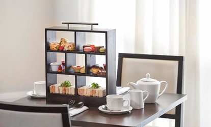image for Afternoon Tea for Two or Four at 4* Doubletree Hilton Dartford Bridge Hotel