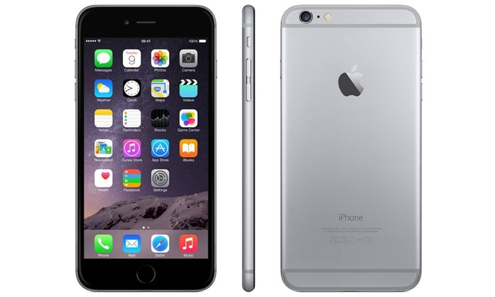 apple iphone 6 64gb reconditionn groupon. Black Bedroom Furniture Sets. Home Design Ideas