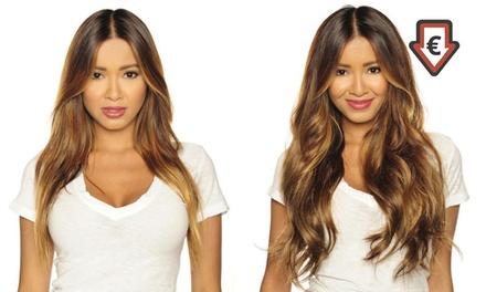 1 ou 2 packs d'extension à clips pour cheveux de 7 pièces, coloris au choix dès 18,98€ ( jusqu'à 93% de réduction)