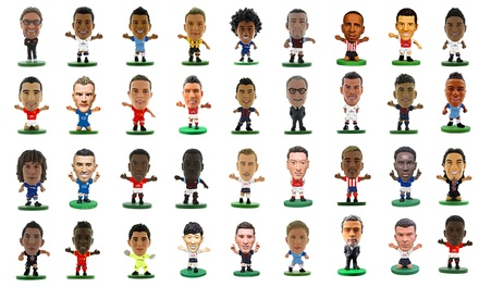 12 soccerstarz mini figures