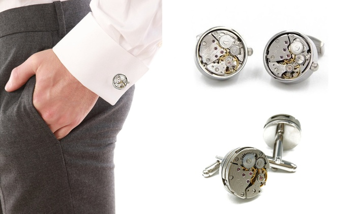 UDS Global Limited: From $19 for a Pair of Watch Caliber-Shaped Cufflinks