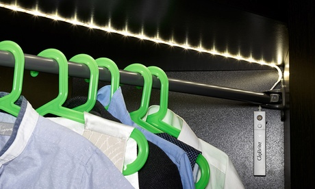 1 o 2 cadenas de luces LED para armario