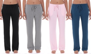 Noble Mount Cozy Rib Lounge Pants with Pockets