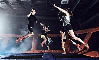 image for Two 60-Minute Open-Jump Sessions at Sky Zone Riverside (Up to 50% Off). Two Options Available.
