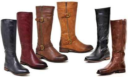 549d7157fa1 Shop Groupon Mata Shoes Women s Winter Tall Urban Riding Boots