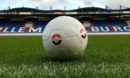 Stadiontour Koning Willem II stadion in Tilburg incl. een Willem II gadget voor 2 tot 10 personen
