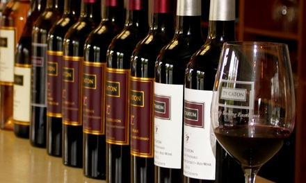 Wine Tasting for Two, Four, or Six with Credit Toward Bottle Purchase at Ty Caton Vineyards (Up to 66% Off)