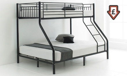 cherry triple sleeper bunk beds