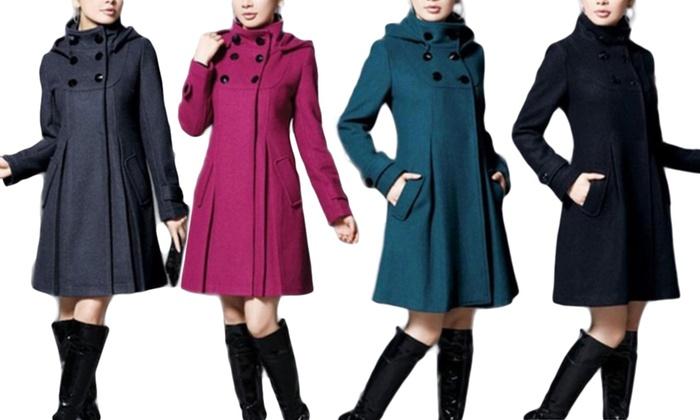 Damen Mantel   Groupon Goods