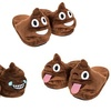 Men's Emoji Poop Slippers
