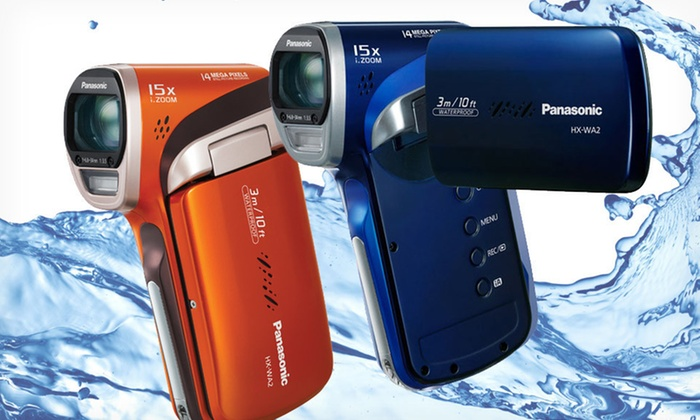 Panasonic HX-WA2 HD Waterproof Camcorder: $119.99 for a Panasonic HD Waterproof Camcorder ($279.99 List Price). Two Colors Available. Free Shipping. Free Returns.