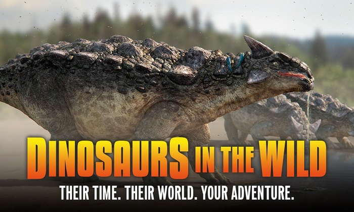 Dinosaurs in the Wild - NEC: Dinosaurs in the Wild, 7 July–23 August at The NEC (Up to 30% Off*)