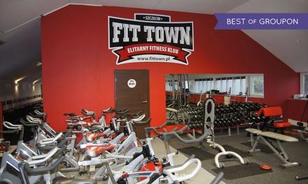 Wejście na siłownię: karnet open na miesiąc od 49,99 zł i więcej opcji w Fit Town