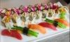 Sushi-Menü inkl. Dessert