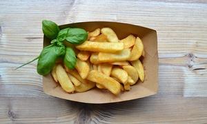 Frittengold Restaurant: 1, 2 oder 4 Portionen Kartoffelfritten nach Wahl im Frittengold Restaurant (bis zu 46% sparen*)