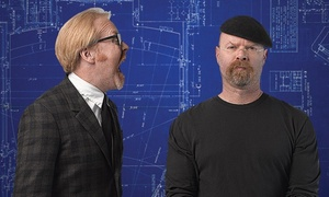 """Mythbusters: Jamie and Adam Unleashed: """"MythBusters: Jamie & Adam Unleashed"""" on Sunday, April 26, at 7 p.m. (Up to 58% Off)"""