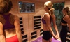 Optimal Health Club - Burlington Township: 5, 10, or 20 Hot Yoga Fitness Classes at Optimal Health Club (Up to 60% Off)