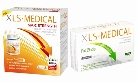 Medical Labbs Appetite Reducer, Fat Binder or Max Strength Weight Management Tablets