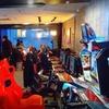 Parties de jeu d'arcades avec boisson ou plat pour 2