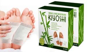 Detoxifying Kiyoshi Bamboo Foot Pads (10- or 20-Pack)