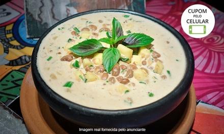 Ziriguidum - Asa Sul: feijãozinho verde com nata e queijo coalho + 2 Eisenbahn puro malte de 600 ml cada