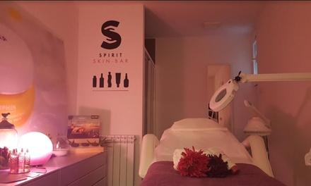 Higiene facial con microdermabrasión, ampolla y tratamiento para pieles jóvenes o maduras desde 19,95€ en Spirit SkinBar