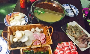 Guo Guo Hot Pot: Hot Pots and Sushi at Guo Guo Hot Pot (Up to 50% Off). Two Options Available.