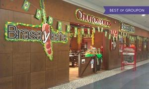 Brasa y Leña: Rodizio ilimitado para 2 o 4 con buffet libre de entrantes y postre desde 19,90 € en Brasa y Leña Heron City y El Saler