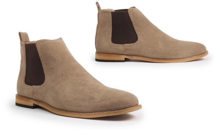 Gino Pheroni Men S Chelsea Boots Groupon Goods
