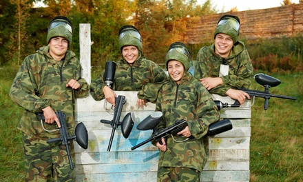 Paintball Package Two, Four, or Eight at The Shack (Up to 51% Off)