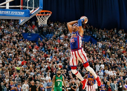 Harlem Globetrotters on Wednesday, December 26,at 1 p.m. or 6 p.m. in Boston or Friday, March 22,at 7 p.m. in Manchester