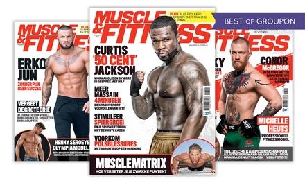 6, 12 of 24 nummers Muscle & Fitness, naar keuze incl. Het Grote Fitness Handboek