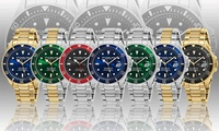 Stuhrling Original GP16457 42mm Professional Dive Mens Watch (Multiple Colors)