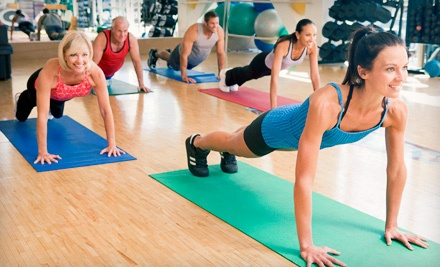 10 Group Fitness Classes (a $100 value) - Total Fitness in Langley