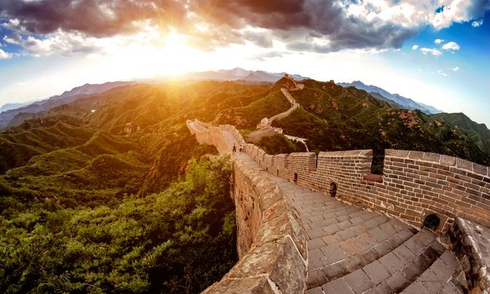 $599!北京,上海等五个城市10日超值游!包往返机票+酒店住宿!