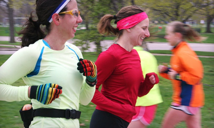Chicago MultiSport - Near North Side: $40 for Four Outdoor Saturday-Morning Speed-Running Classes at Lake Shore Park from Chicago MultiSport ($88 Value)