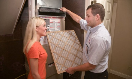 Furnace Or A C Tune Up Aire Serv Groupon