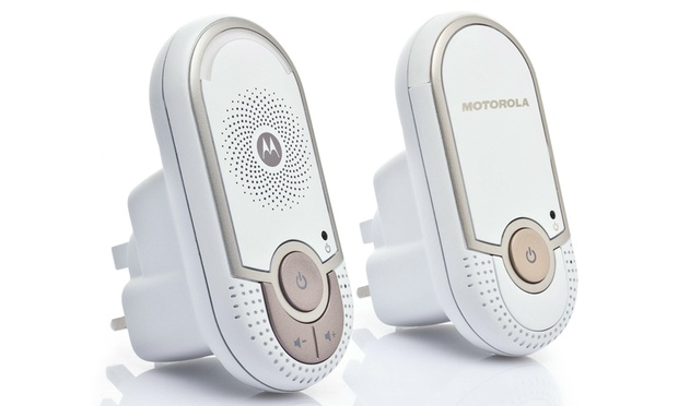 50 off 49 for a motorola mbp8 digital audio baby monitor worth 98 on may. Black Bedroom Furniture Sets. Home Design Ideas