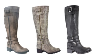 Monaco Women's Wide Calf Boot - Wide Width Available