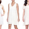 All in White Women's Dresses