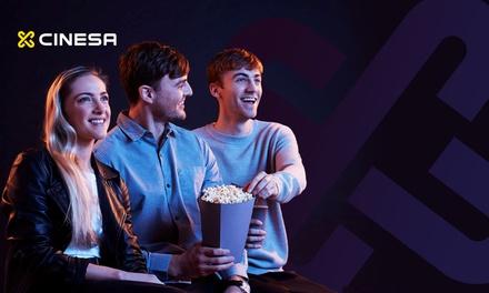 1 entrada de cine en Cinesa para Madrid, Barcelona y resto de península (hasta 45% de descuento)