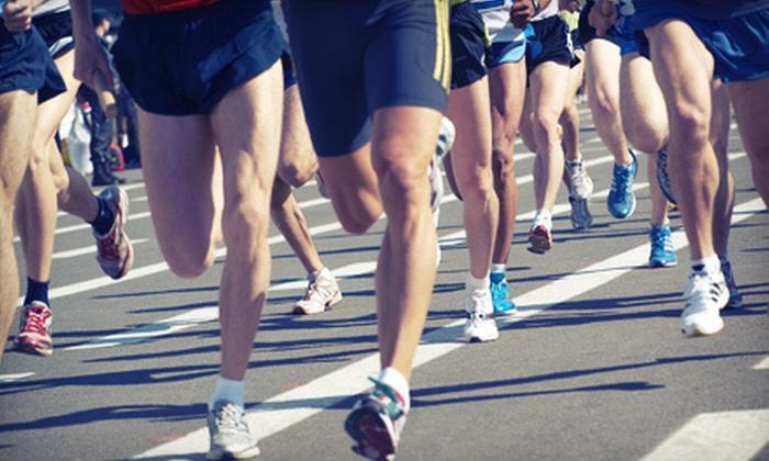 USRA Half Marathon Series - Oak Park: USRA Half Marathon Series 5K or Half-Marathon Entry for One or Two (Up to 63% Off)