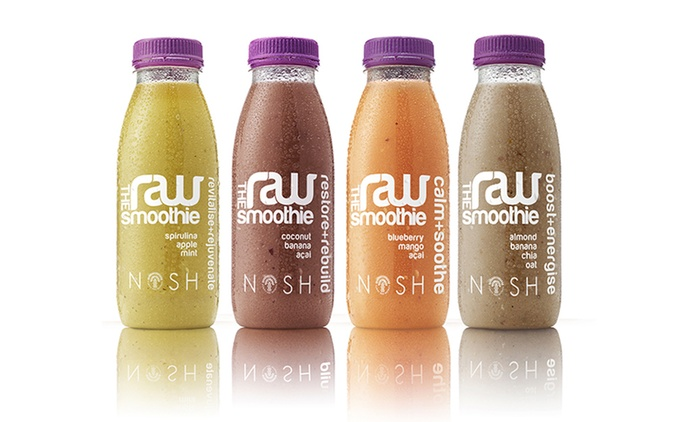 Nosh Raw Three-Day Smoothie Diet Pack for £49.99 With Free Delivery (69% Off)