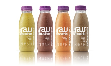 Nosh Raw ThreeDay Smoothie Diet Pack for £49.99 With Free Delivery